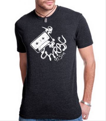 T-Shirt (black with white)