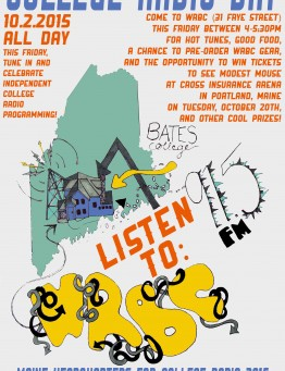 College Radio Day Poster 2015