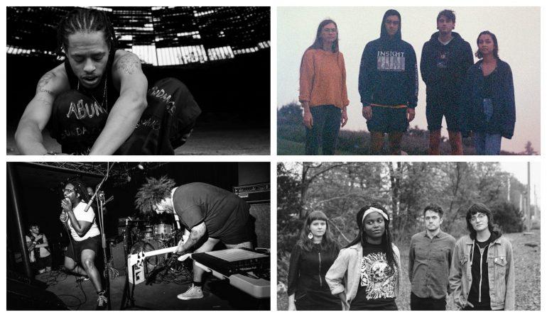 Photo Credits from top left to bottom right: Cinque Mubarak, Adam Funari, Omari Spears, Kara Donnelly